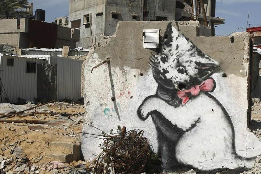 BanksyGaza